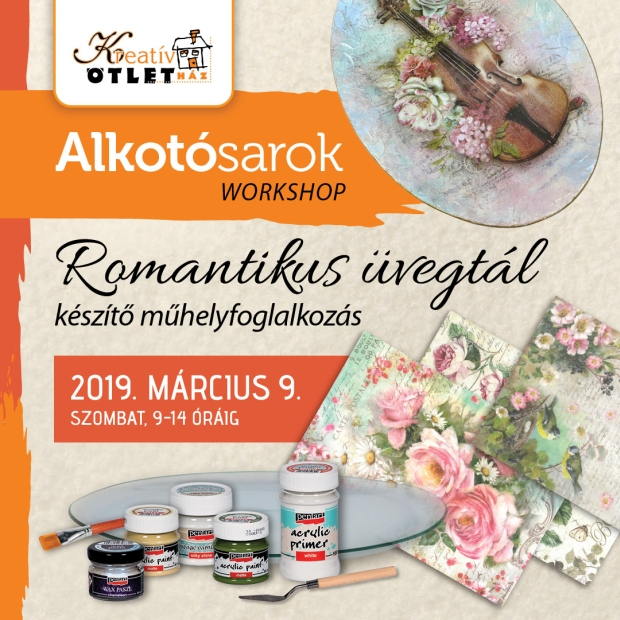 Kreativ Alkotosarok workshop 2019 marcius